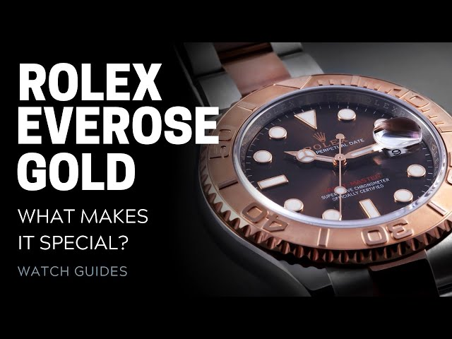 Rolex Everose Gold: What Makes It Special? [Rolex Watches]