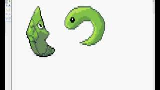 Pokemon Sprite Tutorial: How do you make a scratch?