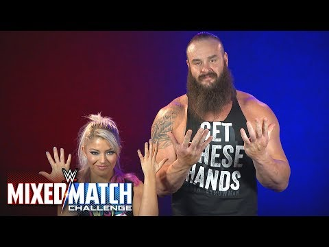 Braun Strowman & Alexa Bliss proudly represent Connor's Cure in WWE MMC