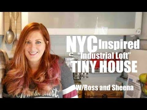 NYC Industrial Loft-inspired OFF-GRID Tiny House