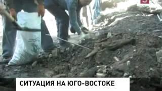 Четыре района Донецка попали под обстрел(, 2014-09-19T16:03:58.000Z)