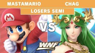 Wnf 3.5 Mastamario  Mario  Vs Chag  Palutena  - Losers Semi Finals - Smash Ultim
