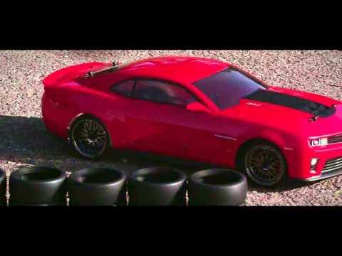 Vaterra 2012 Camaro ZL1 RC Car Action Video