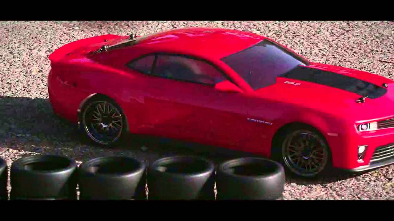 Vaterra 2012 Camaro Zl1 Rc Car Action Video Youtube