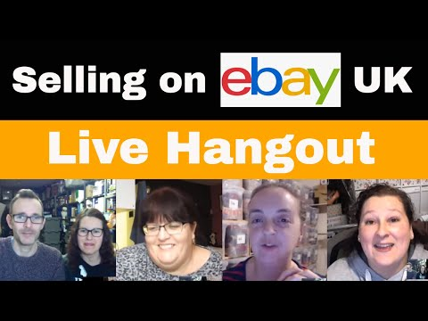 Selling On Ebay Uk Live Hangout Tat Chat 157 Youtube