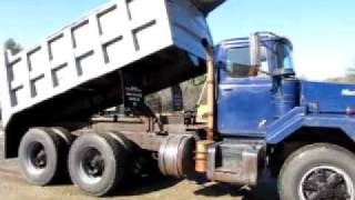 Mack DM 685 Dump Truck Tipper 10 Wheel 10 Tyre Tire