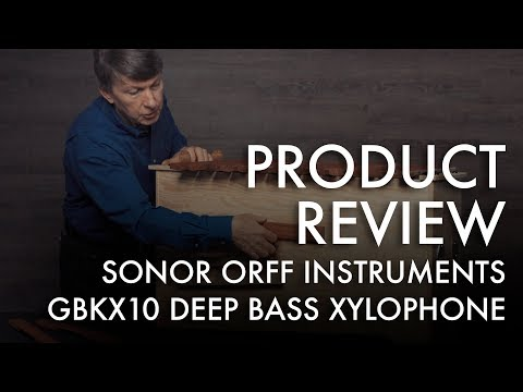 J.W. Pepper Product Review - Orff Instruments - Sonor Deep Bass Xylophone