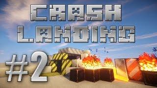 Minecraft HQM FTB Crash Landing 02 первая смерть