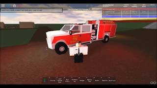 Roblox Tulsa Fire Department Response To Medical At Camp Ground