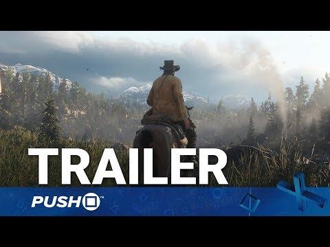 Red Dead Redemption 2 (RDR2) PS4 Trailer: Arthur Morgan Reveal | PlayStation 4