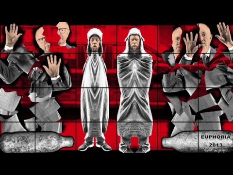 Gilbert and George's edgy art