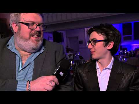 Isaac Hempstead Wright Bran Stark and Kristian Nairn Hodor on being 'Game of Thrones'