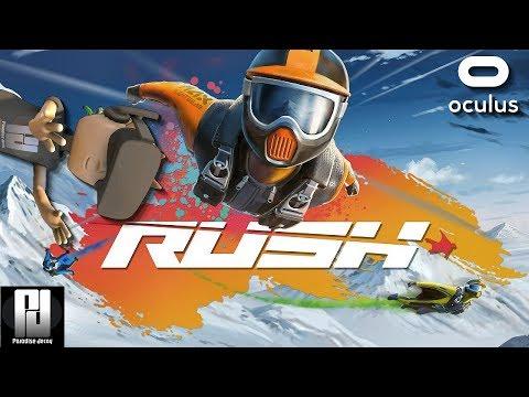 WINGSUIT THRILLS IN RUSH VR! // OCulus + Touch // GTX 1060 (6GB)