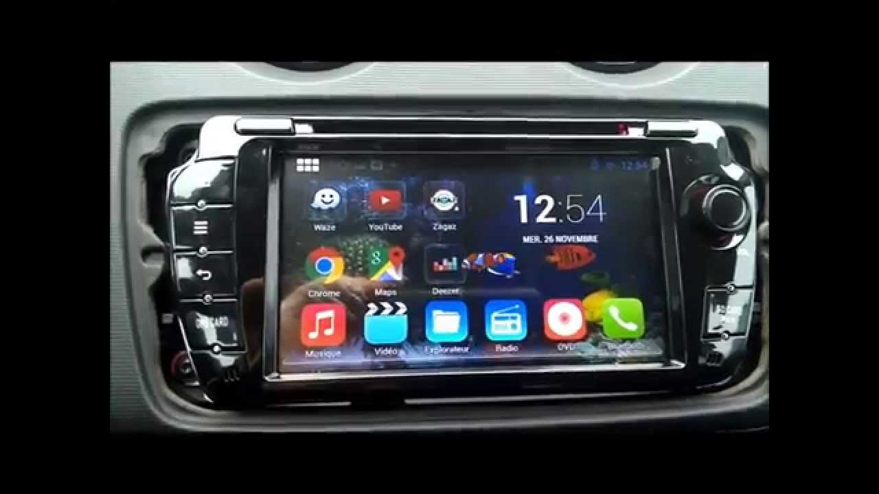pr sentation autoradio android kgac 7010 hd seat ibiza 6j youtube. Black Bedroom Furniture Sets. Home Design Ideas