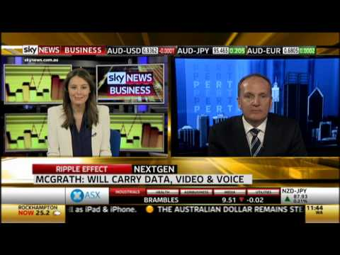 North-West Cable System Sky News Interview with Nextgen Group CEO Peter McGrath