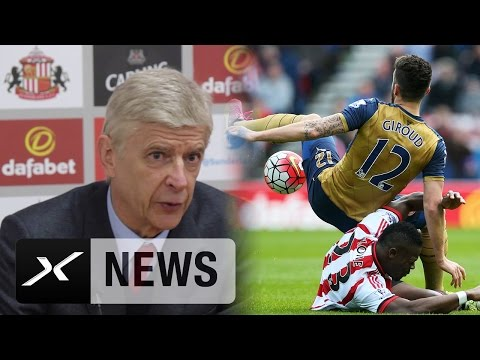Arsene Wenger: Torlosem Olivier Giroud fehlt Selbstvertrauen | AFC Sunderland - FC Arsenal 0:0