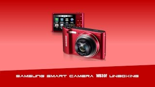 Samsung Smart Camera WB30F Unboxing