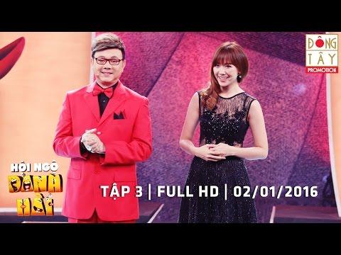 HỘI NGỘ DANH HÀI | TẬP 3 | FULL HD | 02/01/2016