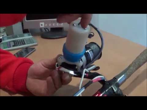 Electric Fishing  Reel Homemade