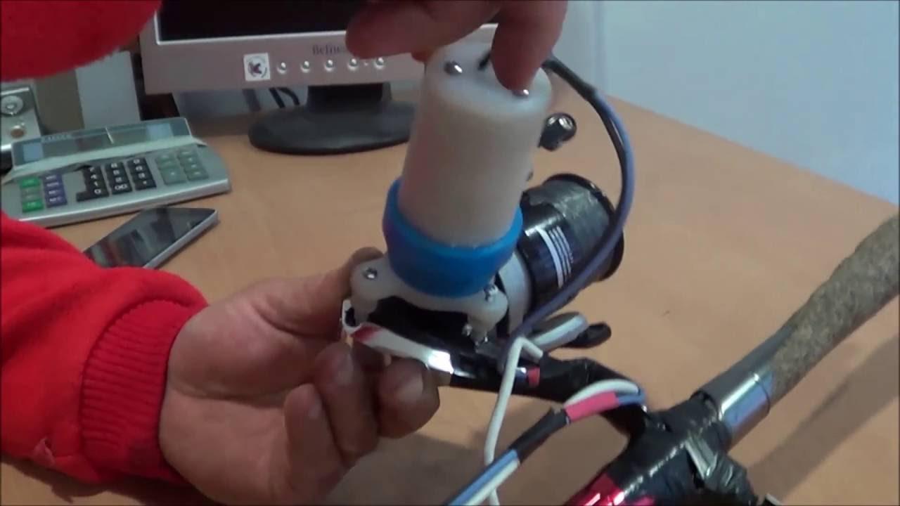 Electric Fishing Reel Homemade