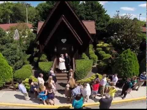 Alpine Wedding Chapel Helen Ga
