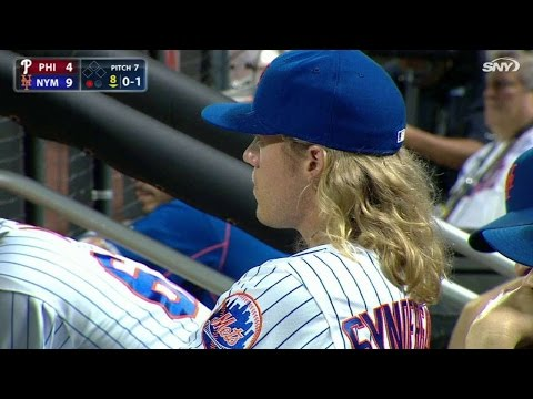PHI@NYM: Syndergaard the horse runs Saratoga