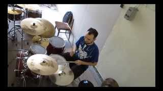 Drum Cover: The Vitamin String Quartet VS Krasio- Youth of the Nation (P.O.D. cover)