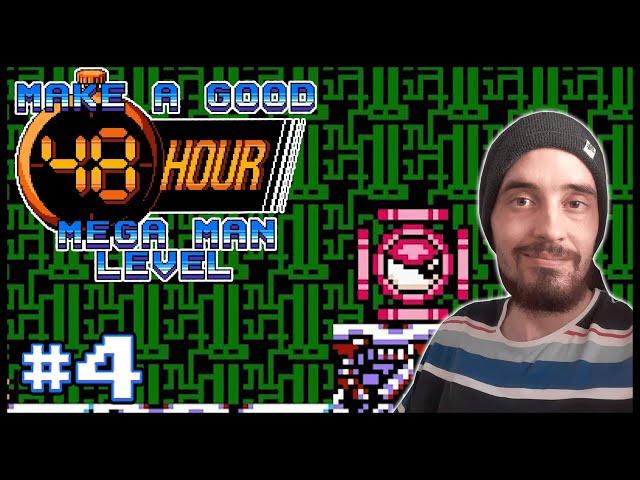 Make a Good 48 Hour Mega Man Level [4] - THE DUALITY OF MAN!