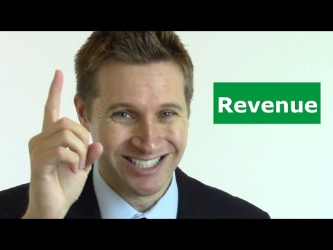 The First Rule of Business (Revenue)