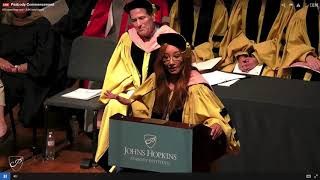 Tori Amos Commencement Speech - Johns Hopkins Peabody Conservatory 2019