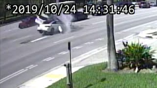 Video Shows 6-vehicle Wreck Leaving 9 Injured In Miami-Dade