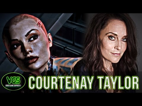"Courtenay Taylor Voice of Jack from Mass Effect ""Bioware has changed the lives of so many"""
