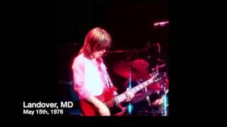 Jimmy McCulloch: 1976 Wings Over America Soily Introductions