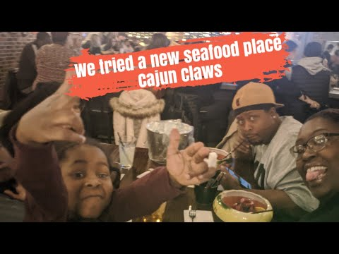 We Tried A New Seafood Place. Cajun Claws!!!
