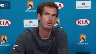 Andy Murray press conference (pre-final) - Australian Open 2015
