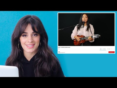 Cover Lagu Camila Cabello Watches Fan Covers On YouTube | Glamour STAFABAND