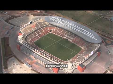 Peter-Mokaba-Stadion / Stadium in Polokwane in Südafrika / South Africa