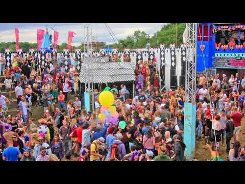 The Secret Garden Party (SGP) 2015 - Time-lapse By Regenology