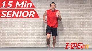 15 Minute Senior Workout - Low Impact Exercises for Seniors Elderly Men & Women Older People
