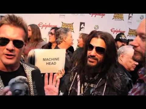 CHRIS JERICHO Interview at Revolver Golden Gods 2012 on Metal Injection