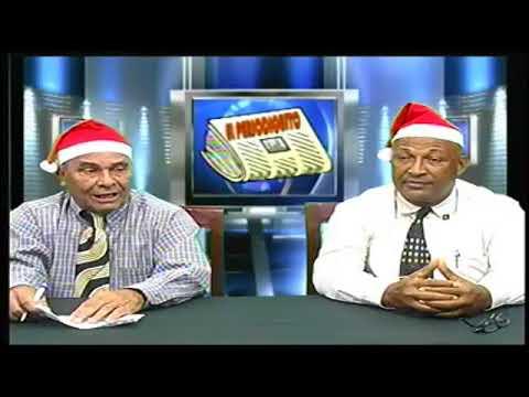 Ramon Sanchez y Santiago Mercedes (Desvistiendo las noticias Telecanal28).