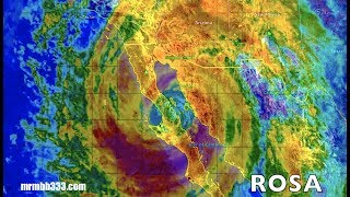 *NEW* - Hurricane ROSA - ARIZONA - Flash Floods/Power Outages عاجل اعصار روزا