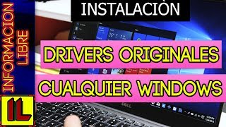 ⏩【2018】Descargar 【Actualizar Drivers Originales de tu Pc 💽】Para Windows 10 | 8.1 | 7 | Vista y Xp
