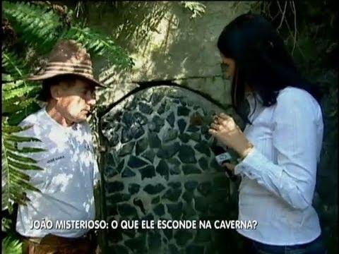 Homem que ganhou na Mega Sena vive numa caverna no interior de São Paulo