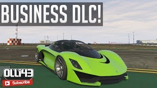 GTA 5 Business DLC: New Jet, Cars & More! (GTA 5 Online Updates)