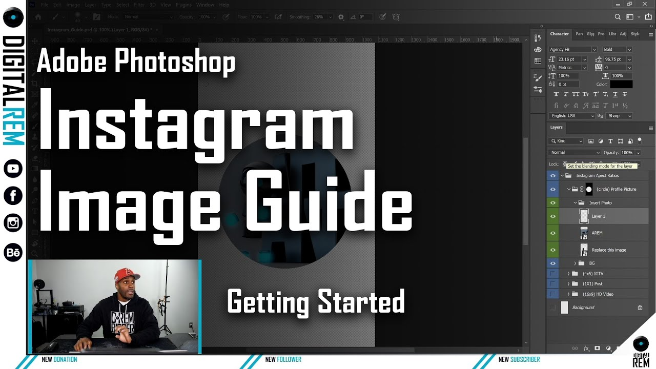 Getting Started: Instagram Image Guide