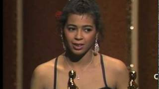 """Flashdance...What a Feeling"" winning Best Original Song Oscar®"