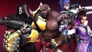 Overwatch - Greatest Teamwork Plays