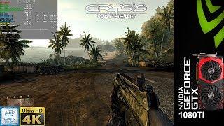 Crysis WarHead Enthusiast Settings 4K | GTX 1080 Ti | i7 8700K 5.1GHz