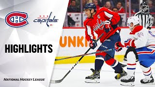 NHL Highlights | Canadiens @ Capitals 2/20/20